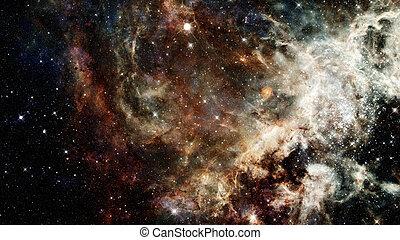 galaxy., communie, gemeubileerd, dit, beeld, nasa, dreamscape