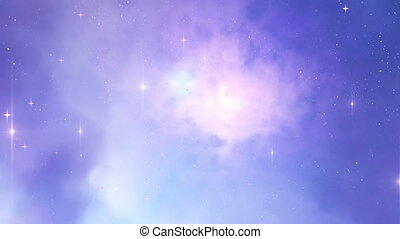 Galaxy in deep space  - Galaxy in deep space