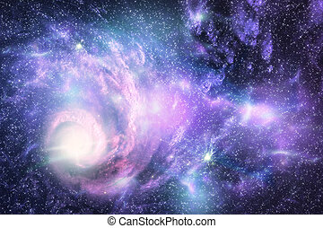 Space galaxy and star fogs