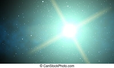 Galaxy Stargaze (60fps) - The massive bright center of a...