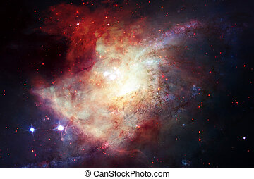 Abstract space background. Elements of this image furnished...