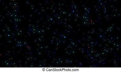 Galaxy. Stars background.