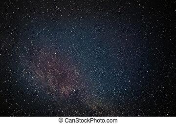 Galaxy stars night sky