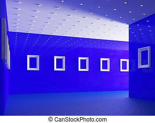 galerie, grand