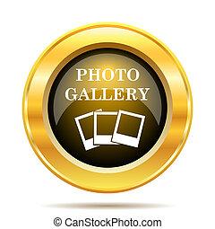 galerie, icône, photo