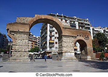 Galerios Arch - The famous Galerios Arch in Thessaloniki...