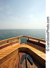galilee, ボート, 海