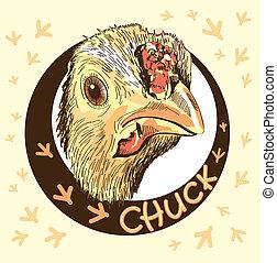 galinha, criando