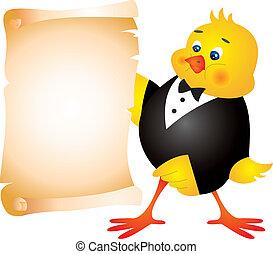 galinha, vetorial
