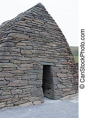 Gallarus Oratory - Ancient stone structure on Dingle...