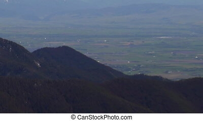 Gallatin Valley Montana - zoom out