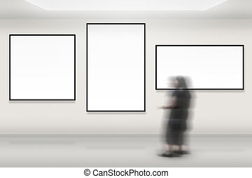 galleria arte, fondo