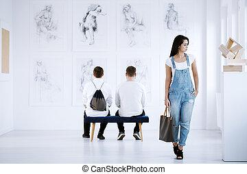 galleria arte, mostra