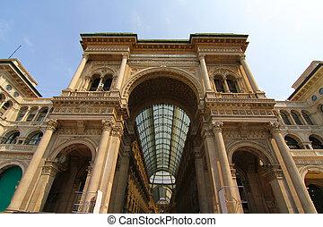 Galleria Vittorio Emanuele in Milano - The Galleria Vittorio...