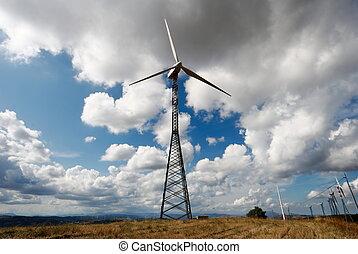 gallerverk, slingra turbiner