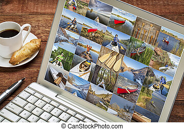 gallery of canoe paddling pictures
