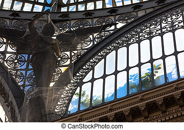 Gallery Umberto I, Naples , Italy