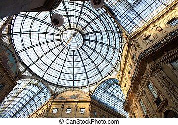 Gallery Vittorio Emanuele II, Milan