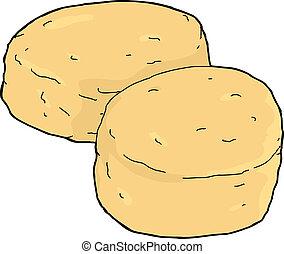 galletas, aislado