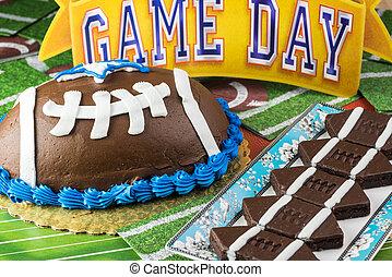 galletas, cake.