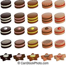galletas, colección