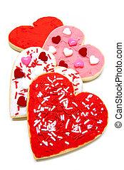 galletas, día de valentines