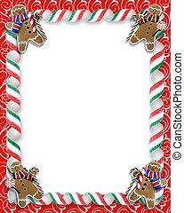 galletas, frontera, navidad, dulce