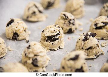 galletas, helado