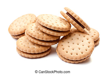 galletas, llenado
