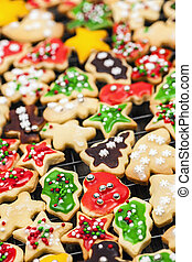 galletas, navidad, casero