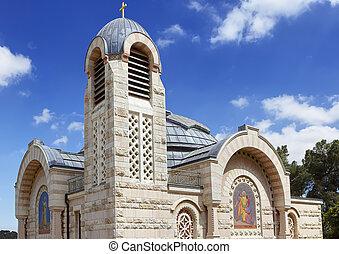 gallicantu, ピーター, st. 。, 教会