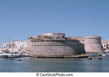 Gallipoli, Apulia - Angevin castle