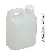 Gallon - Empty clean and clear gallon liquid container...