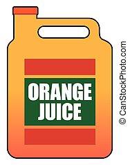 Gallon of Orange Juice