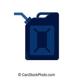 gallon tank of oil price icon