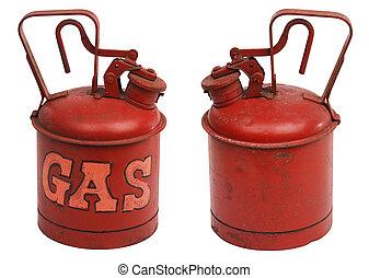 gallone, di, gas