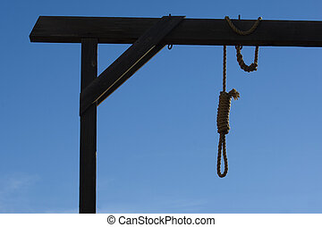 Gallows in courthous