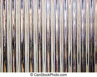 galvanized iron - Corrugated steel abstract background