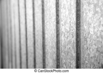 galvanized metal as a background