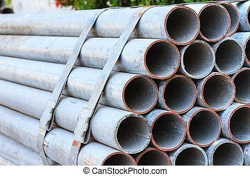 Galvanized Steel Pipe  - Bundle galvanized Steel Pipe