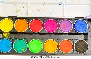 gama de colores del color
