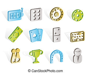 gambling and casino Icons