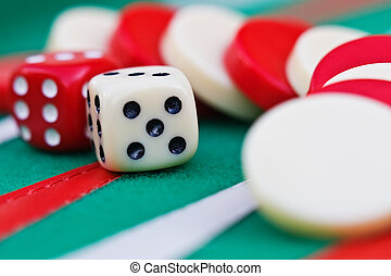 gambling - Backgammon, Sugoroku, Nard, Tabula , game is ...