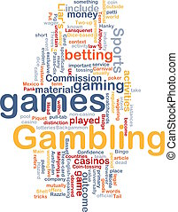 Gambling betting background concept - Background concept...