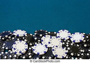 gambling chip frame