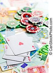 gambling concept