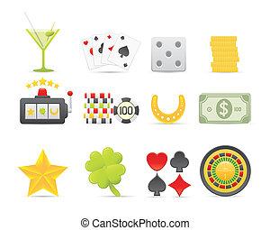 Gambling Icons Set