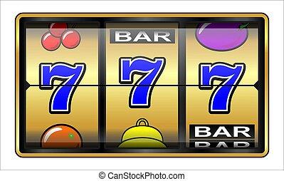 Gambling illustration 777