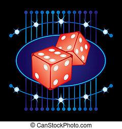 Gambling neon