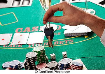 Gambling or car